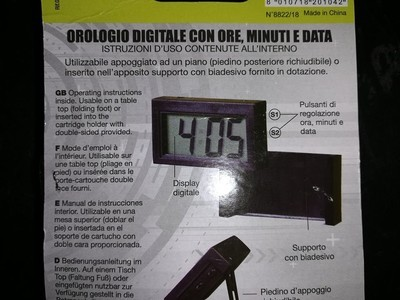 OROLOGIO DIGITALE